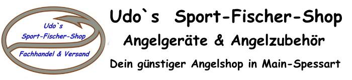 Udo`s  Sport-Fischer-Shop-Logo