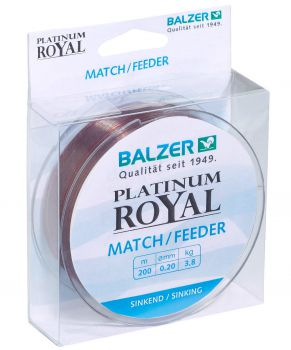 Balzer PLATINUM ROYAL MATCH / FEEDER 200m 0,22mm