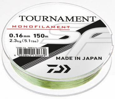 100m DAIWA Tournament SF Line Grün 0,16mm
