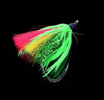Dorschfliege Meeresfliege Big Fly schw.//silber 004  Jenzi
