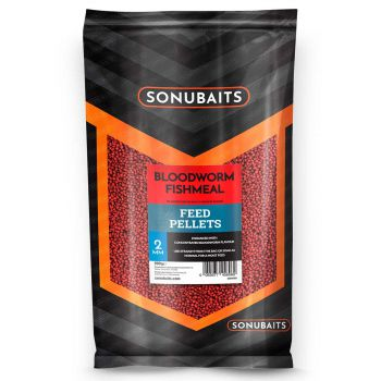 Sonubaits Bloodworm Fishmeal Futter-Pellets 2mm
