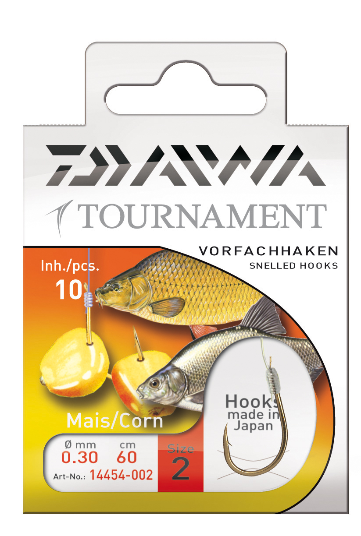 Goldhaken Maishaken Daiwa Tournament Vorfachhaken
